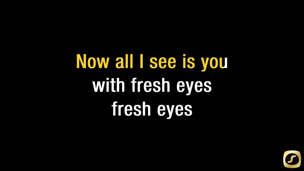 Fresh Eyes Karaoke Song - Andy Grammer