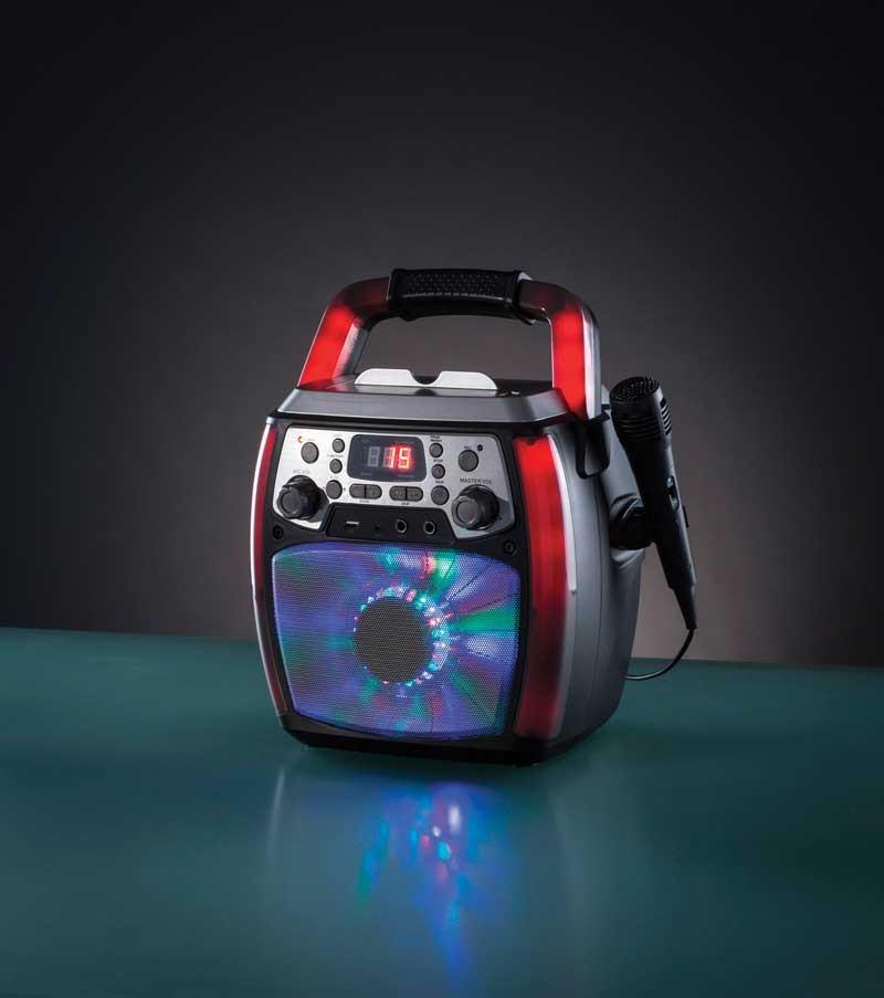 Daewoo Karaoke Machine with Carrying Handle