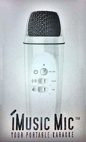 iMusic - Portable USB Karaoke Microphone