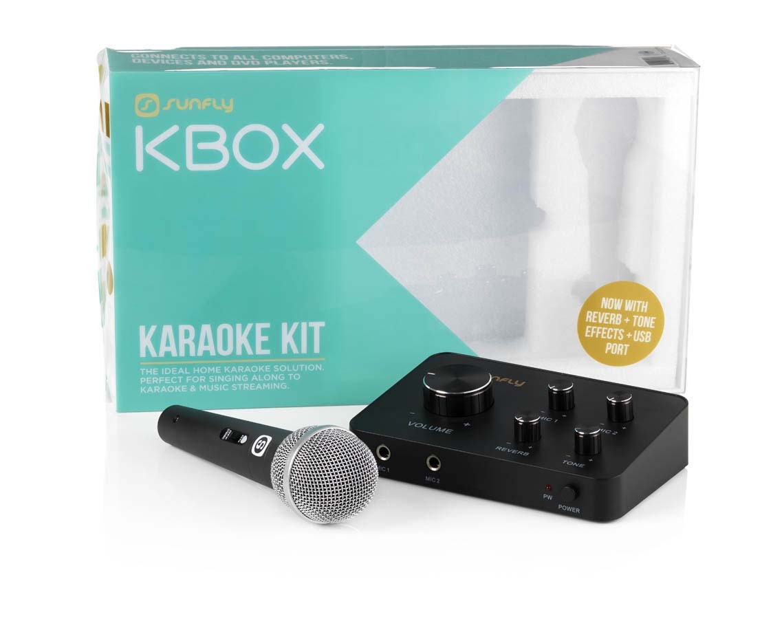 KBOX Karaoke Mixer - Turn Your Phone Into A Karaoke Machine