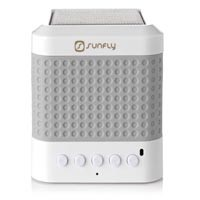 Sunfly Tunecube Portable Bluetooth Speaker