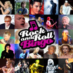 Rock and Roll Bingo Regular Pack GOLD - 4 Games x 300 Tickets