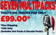 Christmas Bundle - 7 CDG Packs