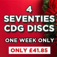 Christmas Bundle - Seventies Karaoke Hits - 4 70's CDG Discs