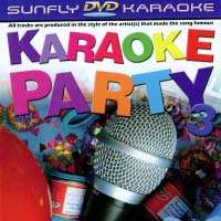 DVD - Karaoke Party Vol.3