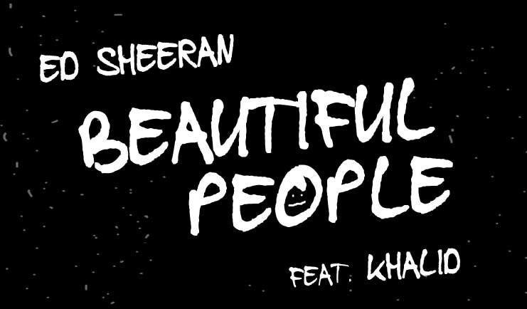 Beautiful People - Ed Sheeran and Khalid Karaoke Song
