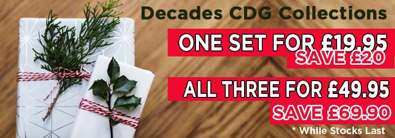 Christmas Karaoke Discounts CDG Disc Decades Packs