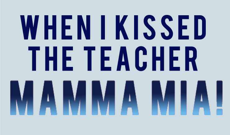 When I Kissed The Teacher Karaoke Track