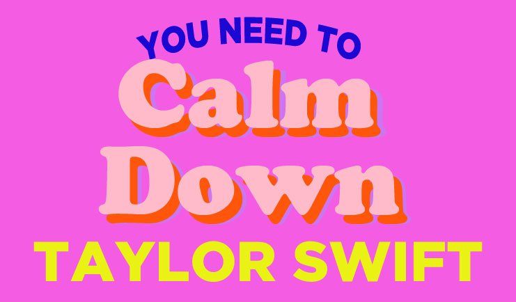 You Need To Calm Down - Taylor Swift Karaoke Track