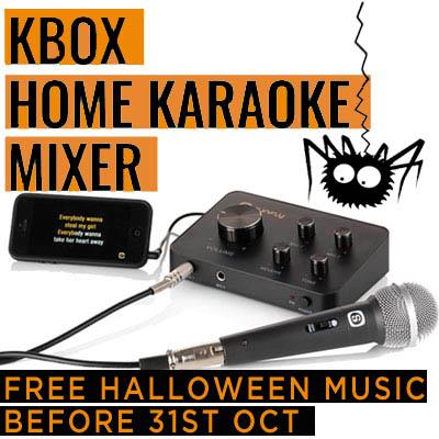 Home Karaoke Machine - Kbox Karaoke Mixer