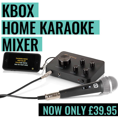 Home Karaoke Machine - Kbox Karaoke Mixer