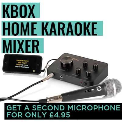 Home Karaoke Machine - Kbox Karaoke Mixer - Christmas Karaoke System